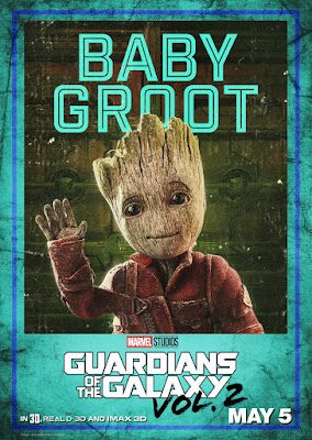 Marvel's Guardians of the Galaxy Vol. 2 Character Movie Poster Set - Groot