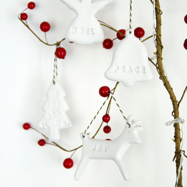 Diy Clay Christmas Tree Decorations.
