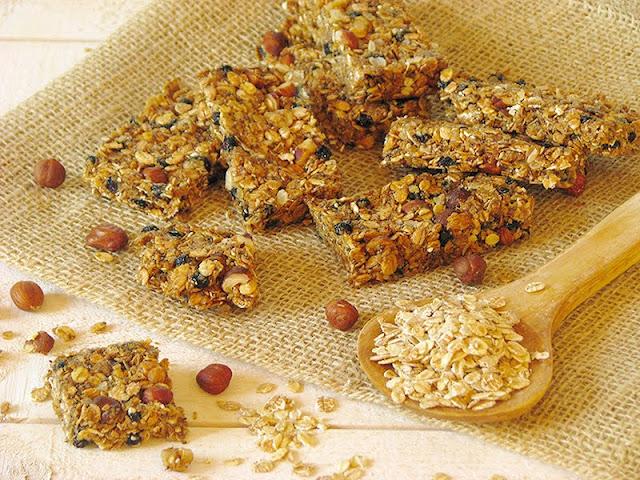 recette de barres de céréales bio et vegan