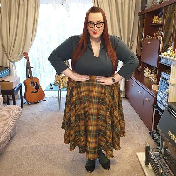 Voodoo Vixen Tartan Skirt
