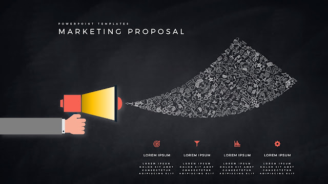 Marketing Proposal using Megaphone for PowerPoint Templates Slide 9