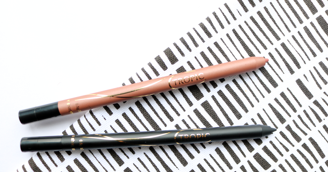 Tropic Silk Lip Liner in Stripped & Silk Gel Liner in Film Noir review