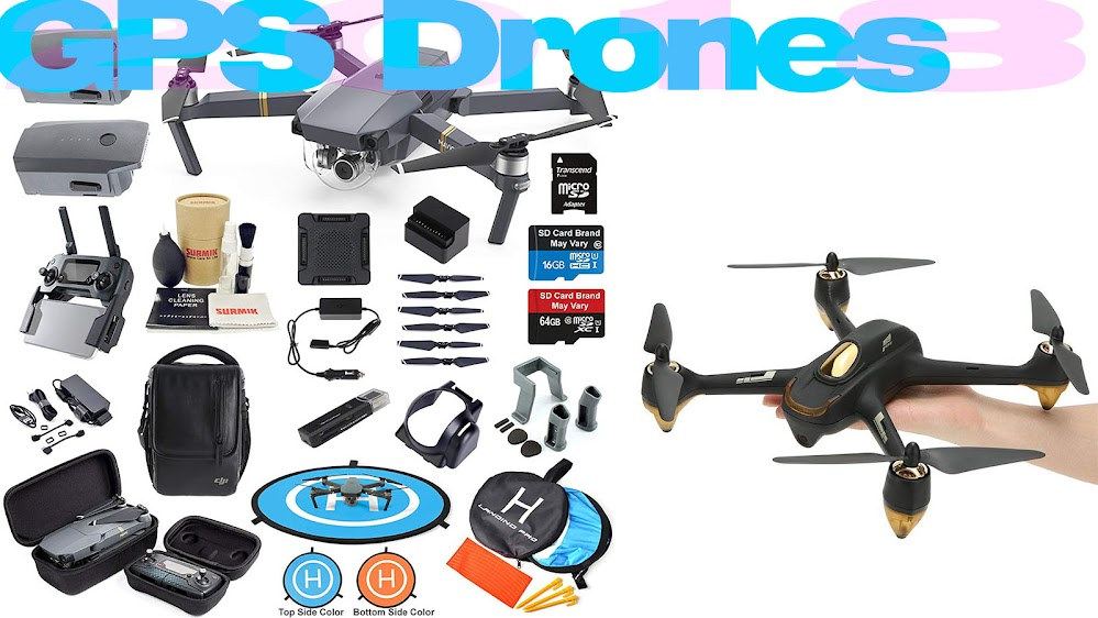 Top 10 Review Products-Top 10 GPS Drones 2018