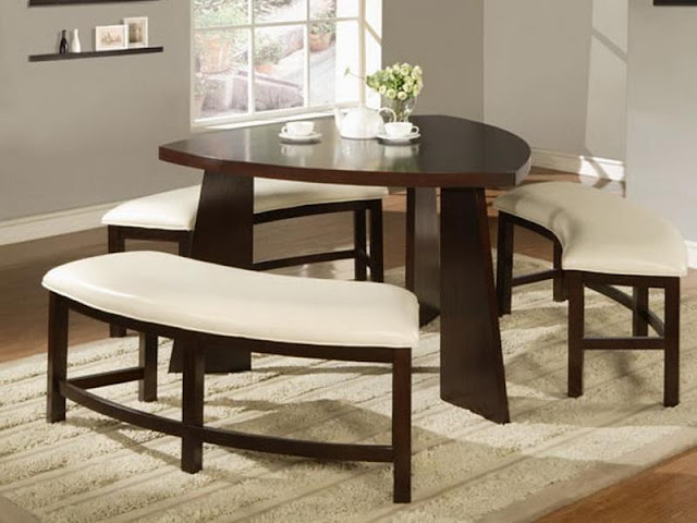 Modern Room with Round Dining Tables Modern Room with Round Dining Tables 6