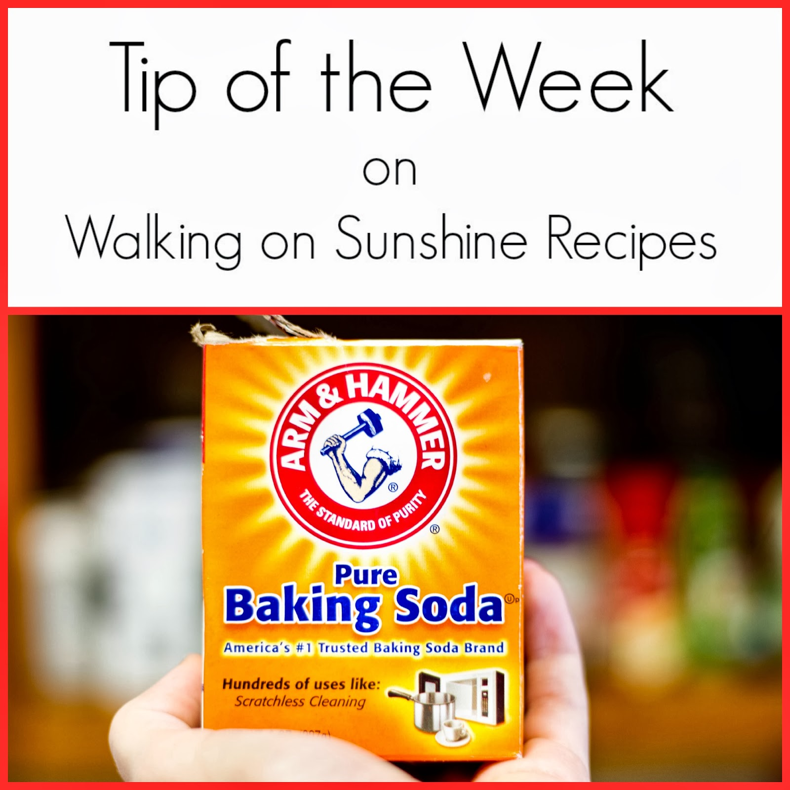 How to Test if Your Baking Soda is Fresh    | Walking On Sunshine