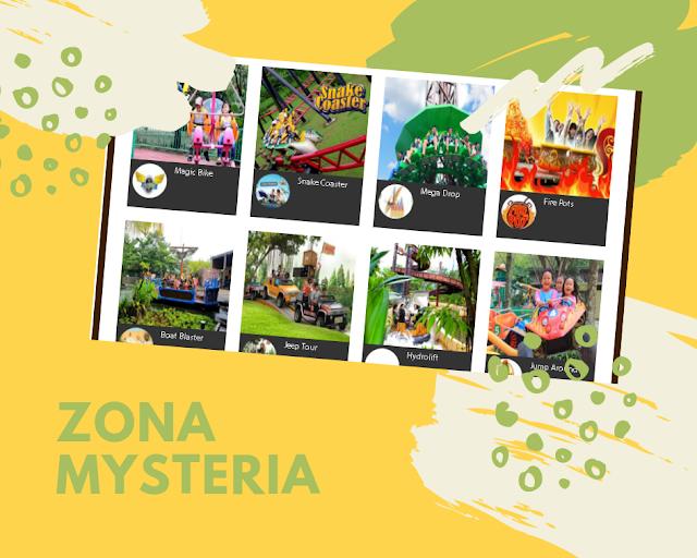 zona mysteria jungleland adventure theme park sentul