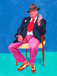 David Hockney exhibition photo