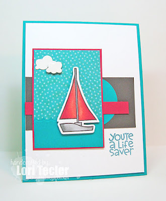 You're a Lifesaver card-designed by Lori Tecler/Inking Aloud-stamps from Paper Smooches