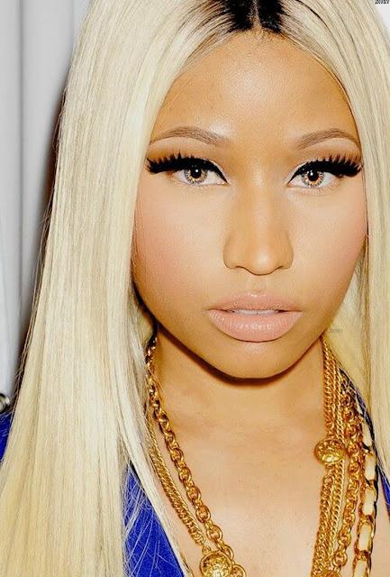 Descripción: 10 Famosos que Usan Lentillas de Contacto - Nicki Minaj