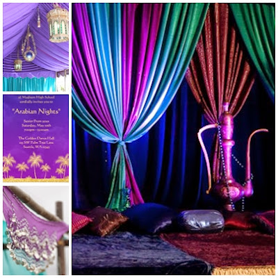 Arabian Nights Moroccan Sweet Fifteen Theme Quince Candles