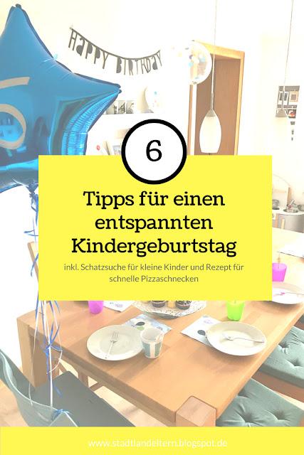 6 Tipps für einen entspannten Kindergeburtstag