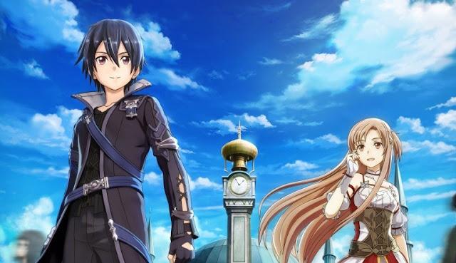 جزء جديد من سلسلة Sword Art Online سيعلن عنه في خريف هذا العام !