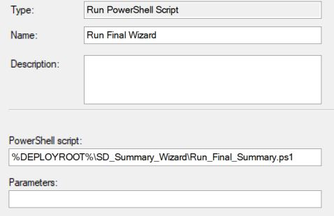Create your own MDT Final Summary wizard with PowerShell