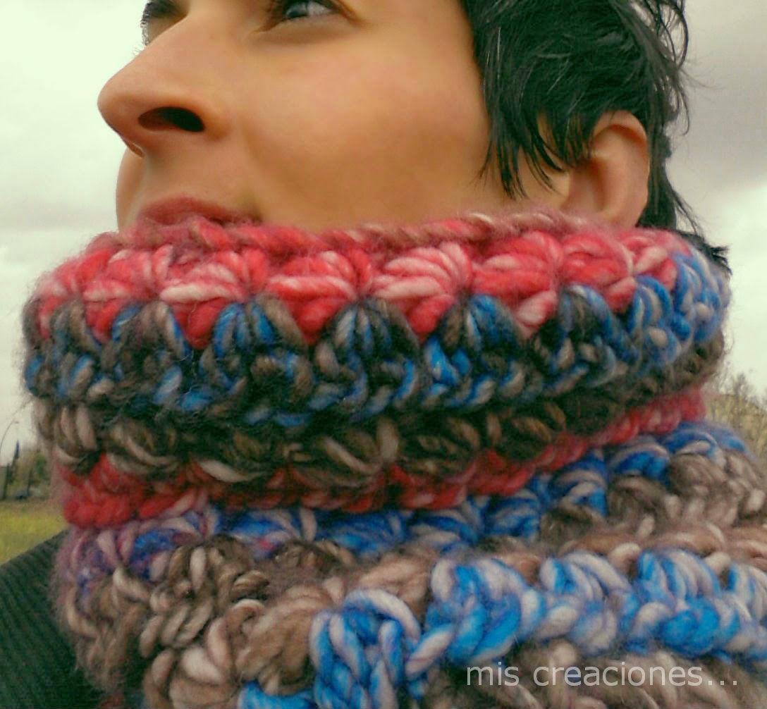 cuello de lana