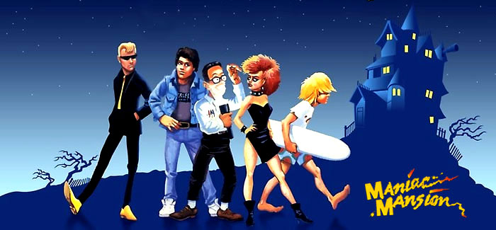 Maniac Mansion Lucasfilm Games 1987