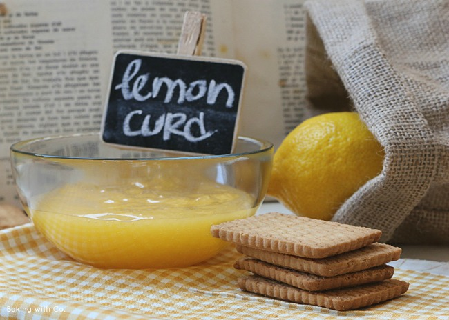 receta de lemon curd