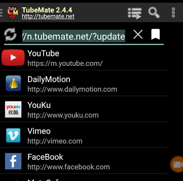 download video youtube dengan tubemate
