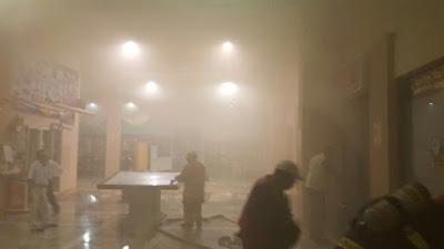 Conato de incendio en Museo de Cera en Veracruz