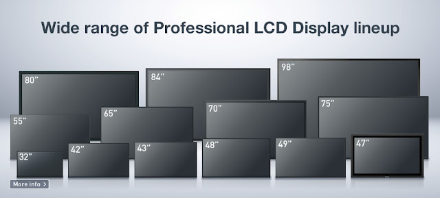 Professional Display, Commercial Display