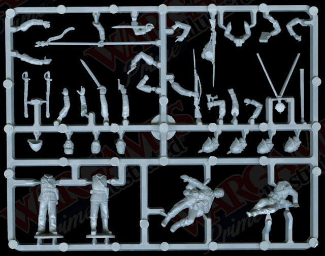 Perry Miniatures: Plastic Zulu War British Infantry Sprues Previewed