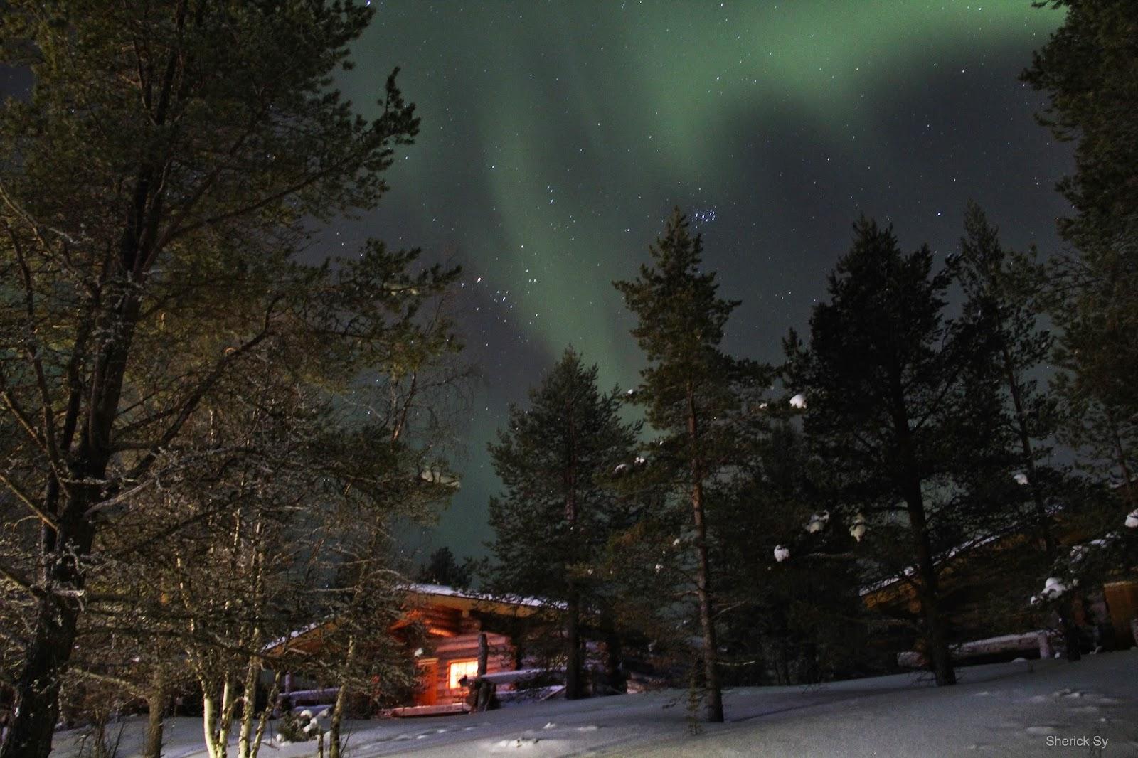 Aurora Borealis, Kakslauttanen, Finnish Lapland