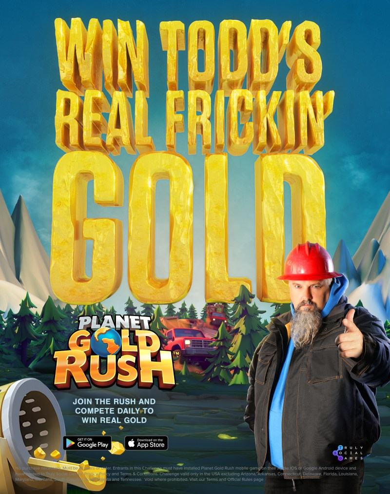 play mobile game to win real gold!