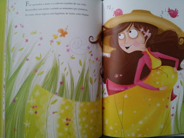 uma menina chamada flor