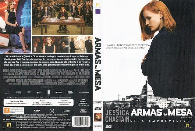 Capa DVD Armas na Mesa (Oficial)