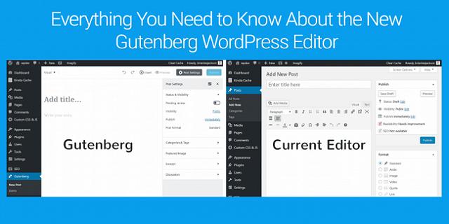 Gutenberg WordPress Editor