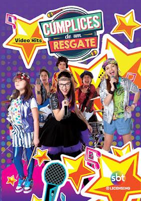 """Imagem: DVD """"Cúmplices de Um Resgate Vídeo Hits"""""""