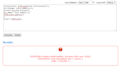 salesforce Development: Resolution for too many DML rows in Apex