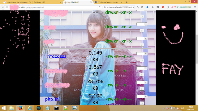 Deface Website CMS Balitbang [With Exploiter]