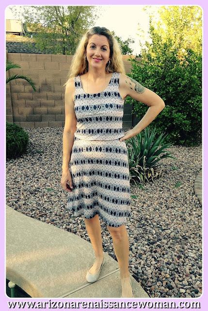 Renee C Zalia Dress - Stitch Fix Review September 2015