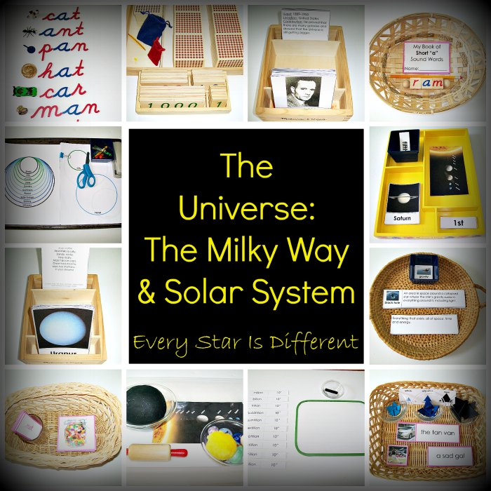The Universe: Milky Way & Solar System