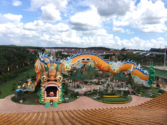 Longest Dragon Tunnel in the world in Yong Peng, Malaysia
