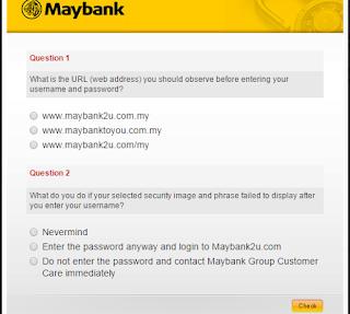 cara hendak daftar maybank2u