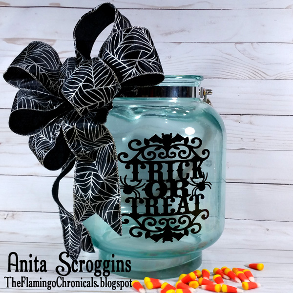 Batty Halloween Jar