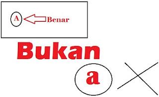 Contoh Penggunaan Huruf Kapital dan Huruf Miring dalam Pelajaran Bahasa Indonesia