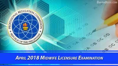 Midwife April 2018 Board Exam