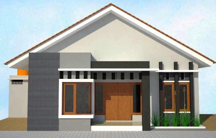 128 Contoh Desain Rumah Tipe Gudang Paling Hist