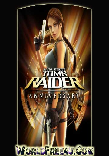 Cover Of Tomb Raider Anniversary Full Latest Version PC Game Free Download Mediafire Links At worldfree4u.com