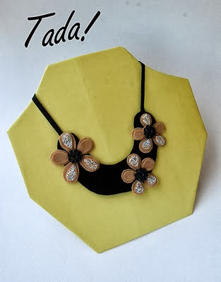 Simple DIY Display Necklace Stand