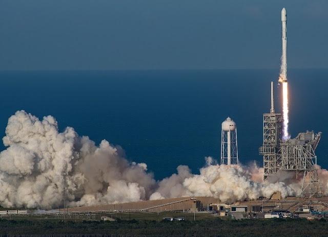 SpaceX realiza lançamento histórico