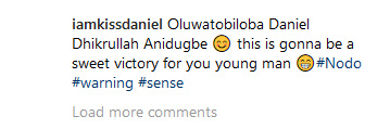 kiss 'This Is Gonna Be A Sweet Victory', Kiss Daniel Reacts To Lawsuit Entertainment