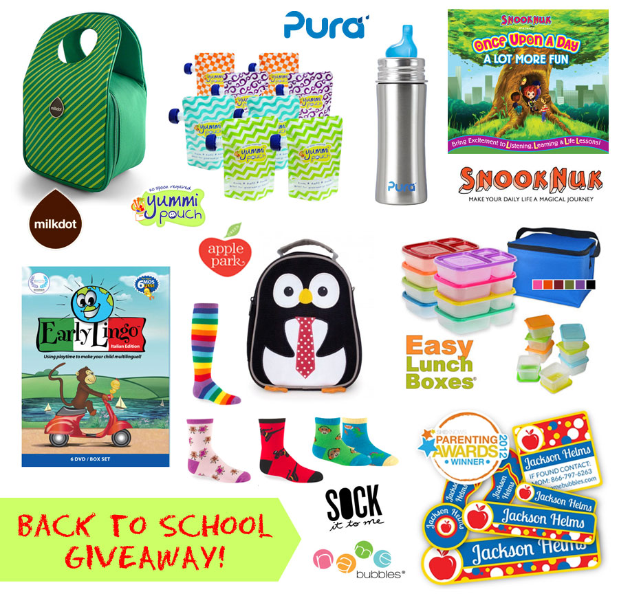 Eco-Friendly Back to School Gear Giveaway! (end 9/19/13 ...