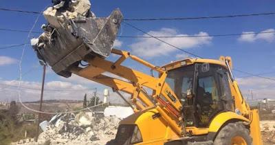 """""""Israel"""" Menghancurkan 780 Rumah Warga Palestina di Area C"""