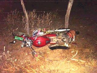 Homem perde controle de moto e morre na PB 177 em Pedra Lavrada