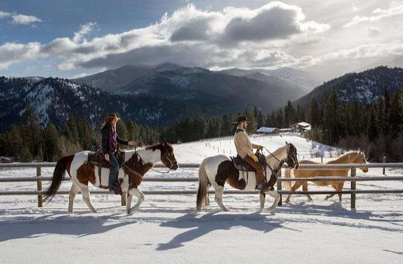 10 Of The Most Beautiful Hotels In America That Deserve A Spot On Your Travel Bucket List - Triple Creek Ranch, Darby, Montana