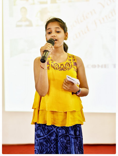 Shreya Rao City winner of BIG Golden Voice Junior in Bengalore by 92.7 BIG FM