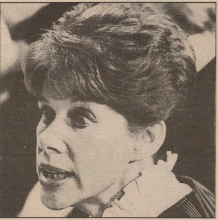 Anita Brookner's shock at learning she has won Booker-McConnell Prize, 1984